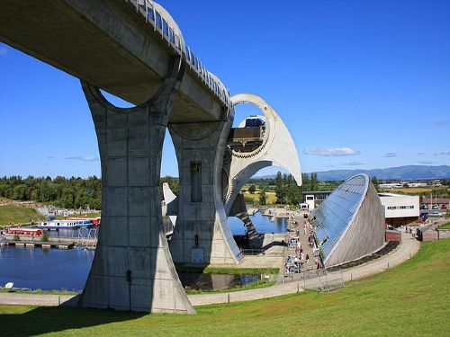 Falkirk Wheel & Callander House with Afternoon Tea