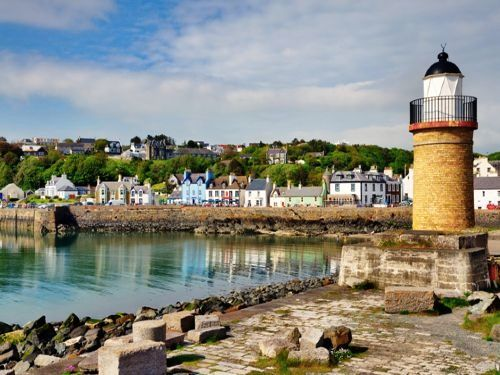 Portpatrick with Afternoon Tea